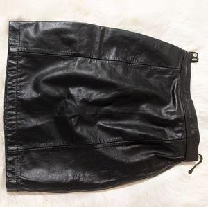Vintage Wilsons Suede Leather Women'sMini skirt